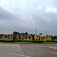 Photo taken at Grand Wisata by Arie B. on 1/12/2014