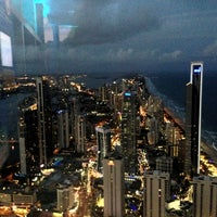 Photo taken at SkyPoint Observation Deck by Vitaly B. on 1/10/2013