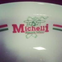 Photo taken at Michelli Ristorante Italiano by Alexandre K. on 7/7/2013