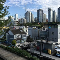 Photo taken at Granville Island Hotel by Tanktron on 8/8/2016
