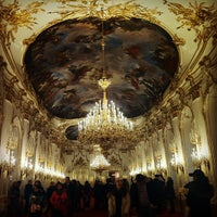 Photo taken at Schonbrunn Palace by Argyris T. on 12/25/2012