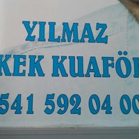 Photo taken at kuaför yılmaz by AYDN SNR on 9/7/2015