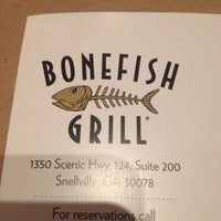 Photo taken at Bonefish Grill by Manda B. on 4/23/2014