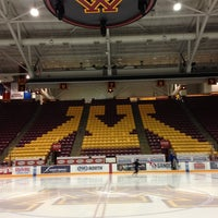 Photo taken at Mariucci Arena by Andrew H. on 1/30/2013
