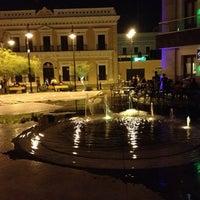 Photo taken at Plaza Bicentenario by Javier R. on 7/2/2013