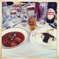 Photo taken at Ajanta Restaurant by Kazuyuki G. on 6/15/2013