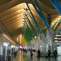 Photo taken at Adolfo Suárez Madrid-Barajas Airport (MAD) by Gabriele R. on 2/13/2013