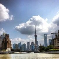 Photo taken at The Bund by Peter  拖轮彼得 V. on 10/26/2012