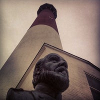 Photo taken at Barnegat Lighthouse by Jamie :. on 2/14/2013