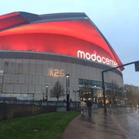 Photo taken at Moda Center at The Rose Quarter by Andrew C. on 3/12/2015