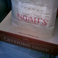 Photo taken at Noah's Bagels by Dorothy D. on 10/5/2012