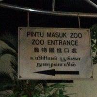 Photo taken at Zoo Taiping & Night Safari by Irhan I. on 12/23/2012