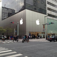 Photo taken at Apple Store by Dongho K. on 4/4/2013