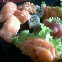 Photo taken at Sushi Nakay by Sabrina A. on 9/16/2012