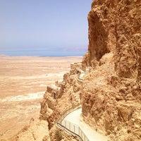 Photo taken at Masada by Luca S. on 6/5/2013