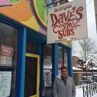 Photo taken at Dave's Cosmic Subs by Seth w. on 11/27/2013