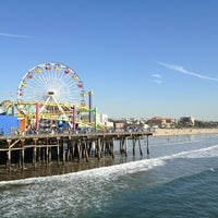 Photo taken at Santa Monica State Beach by Alex d. on 12/28/2012