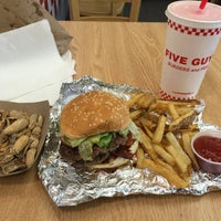 Photo taken at Five Guys by Jimmy W. on 4/9/2016