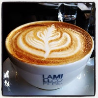 Photo taken at Lamill Coffee Boutique by Lan B. on 1/29/2012