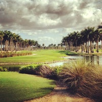 Photo taken at Trump National Doral Miami by Courtney B. on 12/14/2012