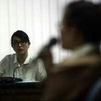 Photo taken at Univeritas HKBP Nommensen by antoni l. on 11/4/2012