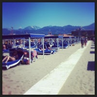 Photo taken at Forte Dei Marmi by Andrea R. on 6/16/2013