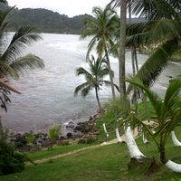 Photo taken at Isla Grande Colon by Jennifer T. on 9/22/2012