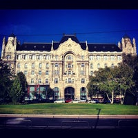 Photo taken at Four Seasons Hotel Gresham Palace Budapest by Gurdal T. on 10/20/2012
