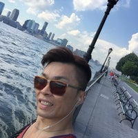 Photo taken at Battery Park City by Jacky L. on 8/13/2016