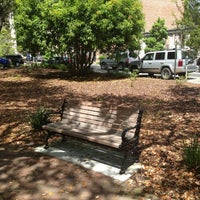 Photo taken at Forrest Gump's Bench (former location) by Ronald D. on 4/19/2013