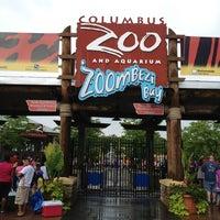 Photo taken at Columbus Zoo & Aquarium by Shayne C. on 7/20/2013