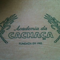 Photo taken at Academia da Cachaça by Alexandre C. on 11/23/2012