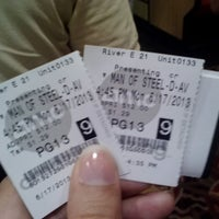 Photo taken at AMC River East 21 by Julia P. on 6/17/2013