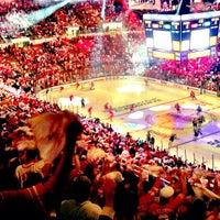 Photo taken at Joe Louis Arena by Nakita on 5/21/2013