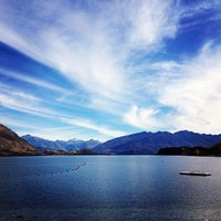 Photo taken at Lake Wanaka by Andrew Long (@socialspace) on 4/15/2013