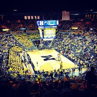 Photo taken at Crisler Center by Andrew F. on 1/31/2013