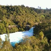 Photo taken at Huka Falls by Dámaso S. on 11/21/2012