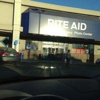 Photo taken at Rite Aid by David P. on 10/11/2012