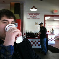 Photo taken at Five Guys by Riti H. on 1/20/2013