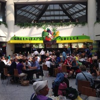 Photo taken at Terminal C Food Court by Fabio S. on 7/11/2013