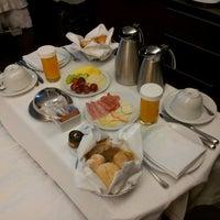 Photo taken at Sheraton Porto Hotel & Spa by João T. on 5/19/2013