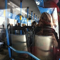 Photo taken at TKL bussi 1 by Pauliina M. on 3/13/2013