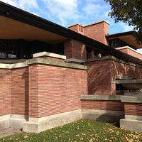 Photo taken at Frank Lloyd Wright Robie House by Mark R. on 10/27/2012