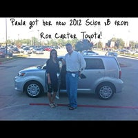 Photo taken at Ron Carter Toyota by Jimmy P. on 9/21/2012