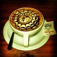 Photo taken at Café Milagro in Manuel Antonio by Jeff F. on 7/27/2013