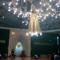 Photo taken at Masjid Agung Al-Ukhuwwah by Ardian P. on 10/21/2016
