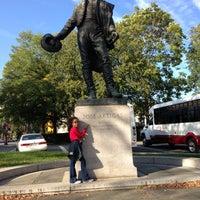 Photo taken at José Artigas Memorial by Mo p. on 10/14/2012