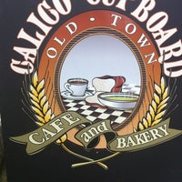 Photo taken at Calico Cupboard Old Town Cafe and Bakery by J. M. on 2/6/2013
