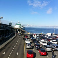 Photo taken at Seattle Ferry Terminal by Jorge V. on 3/29/2013