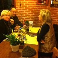 Photo taken at Les Hazalles by Johan V. on 12/7/2014